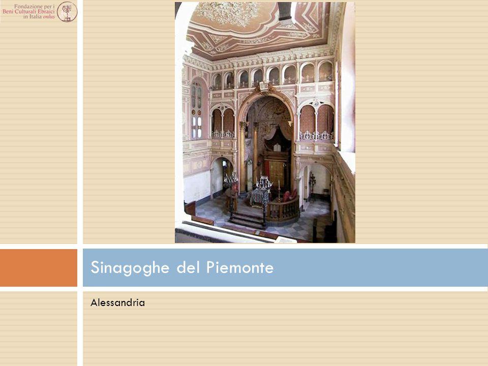 Alessandria Sinagoghe del Piemonte