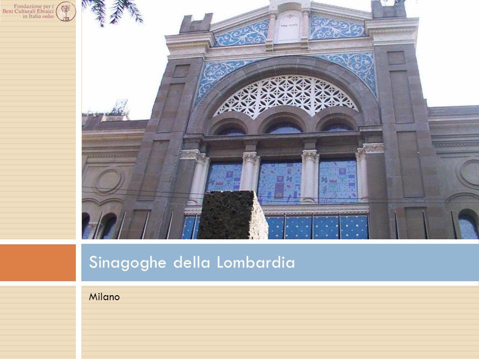 Milano Sinagoghe della Lombardia