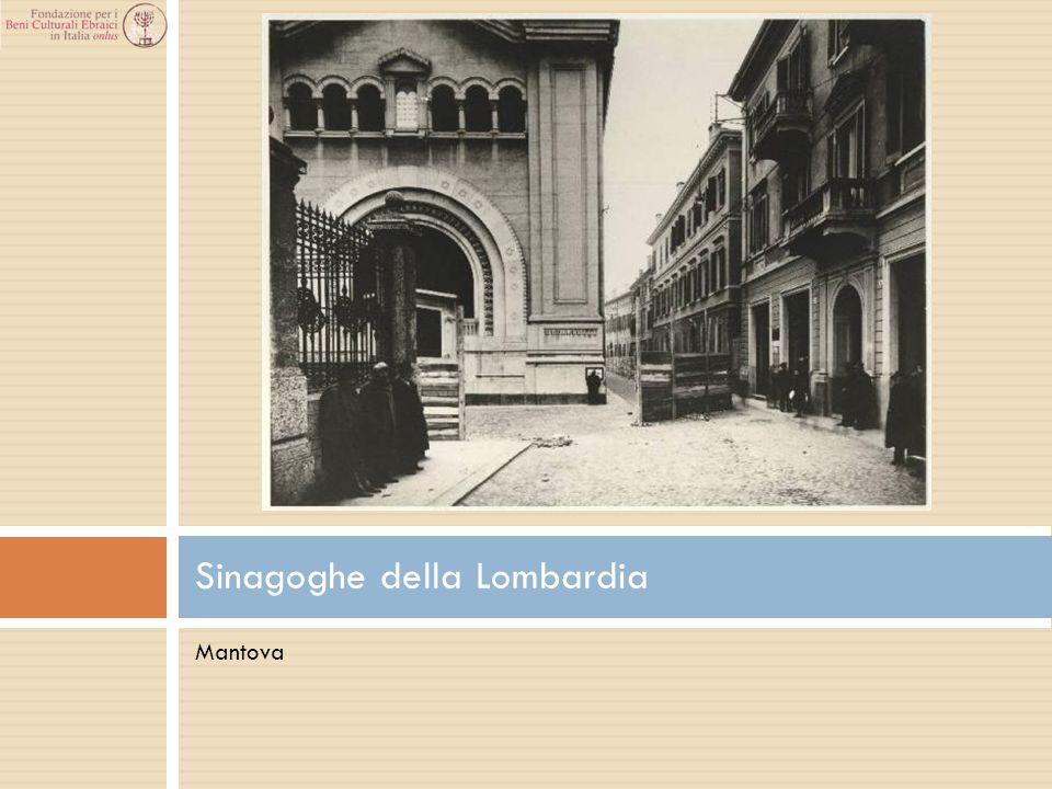 Mantova Sinagoghe della Lombardia