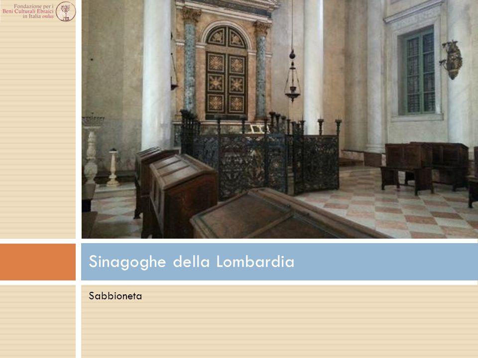 Sabbioneta Sinagoghe della Lombardia