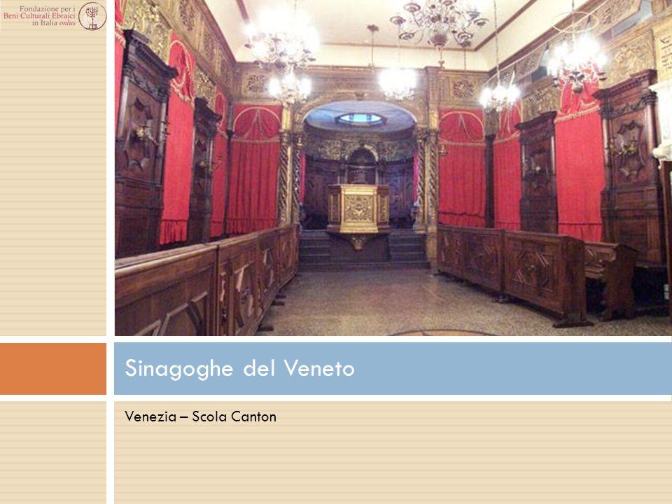Venezia – Scola Canton Sinagoghe del Veneto