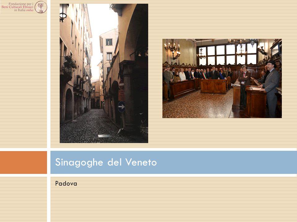 Padova Sinagoghe del Veneto