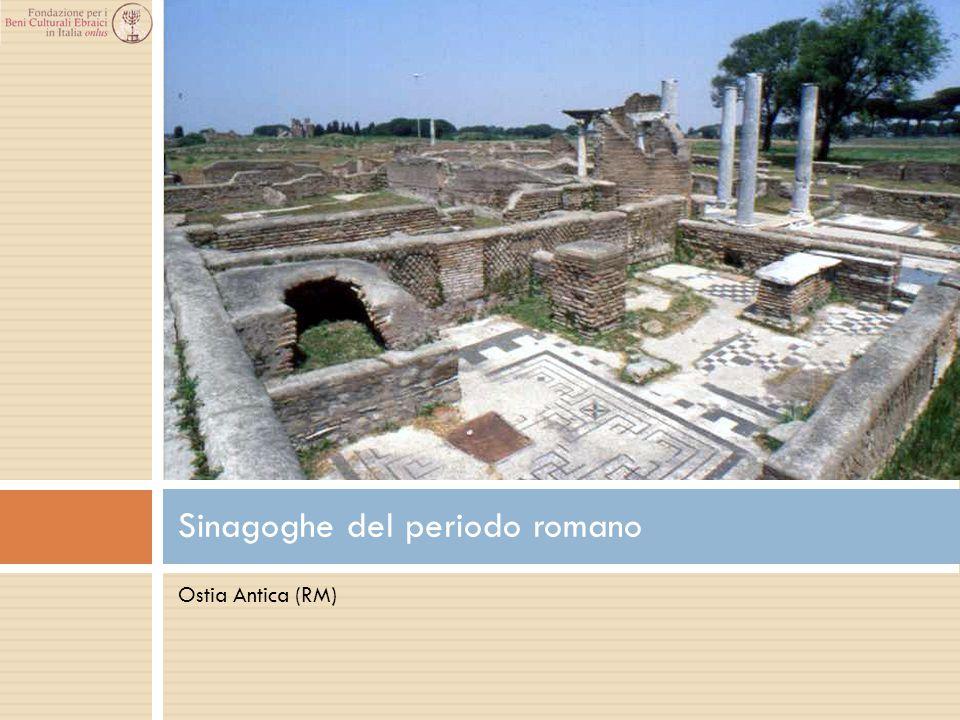Ostia Antica (RM) Sinagoghe del periodo romano