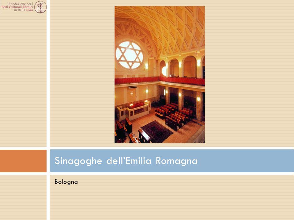 Bologna Sinagoghe dell'Emilia Romagna