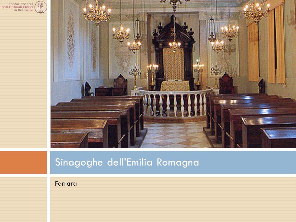 Ferrara Sinagoghe dell'Emilia Romagna
