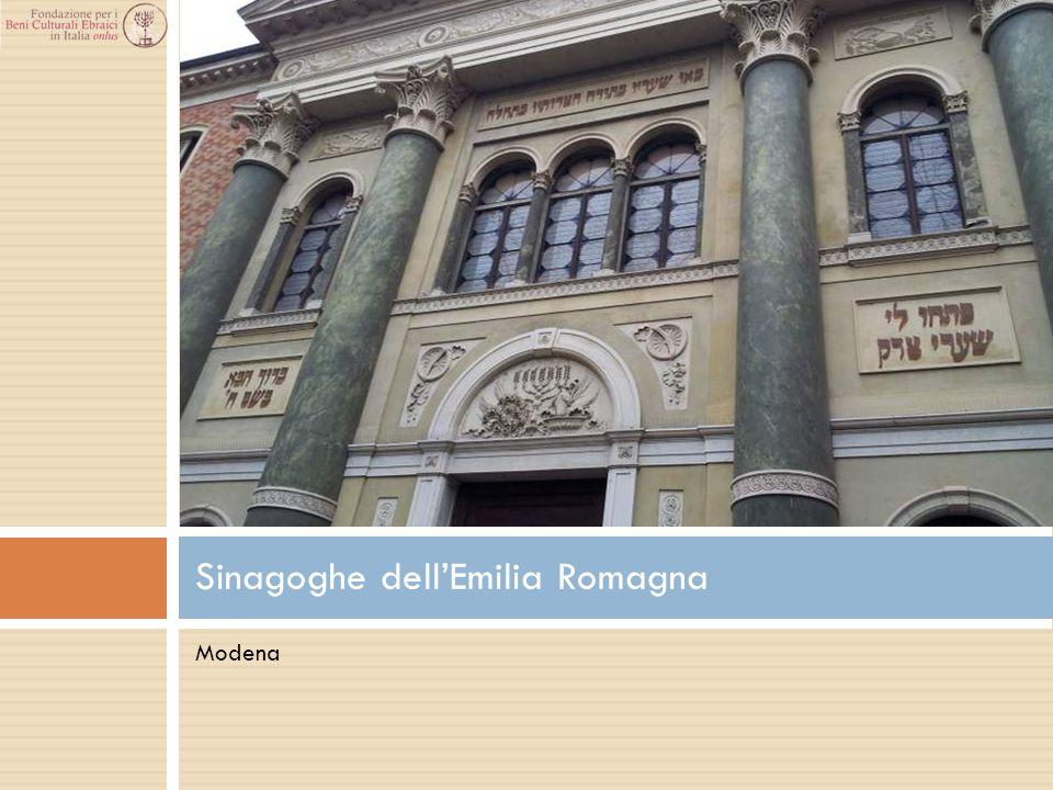 Modena Sinagoghe dell'Emilia Romagna