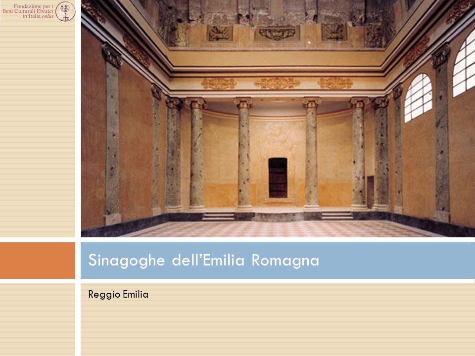 Reggio Emilia Sinagoghe dell'Emilia Romagna
