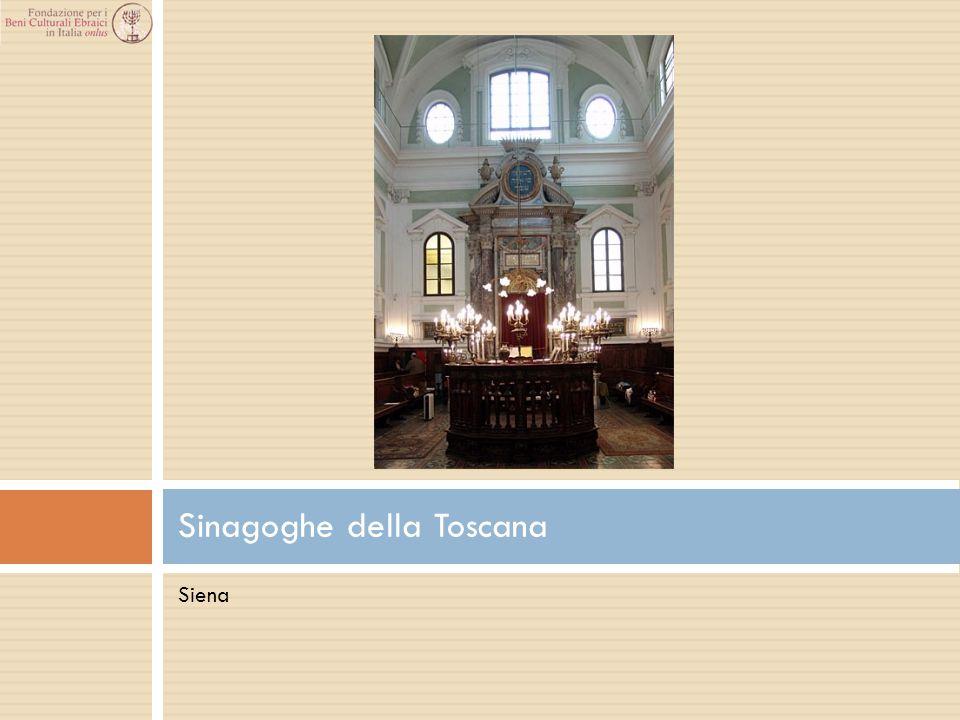 Siena Sinagoghe della Toscana