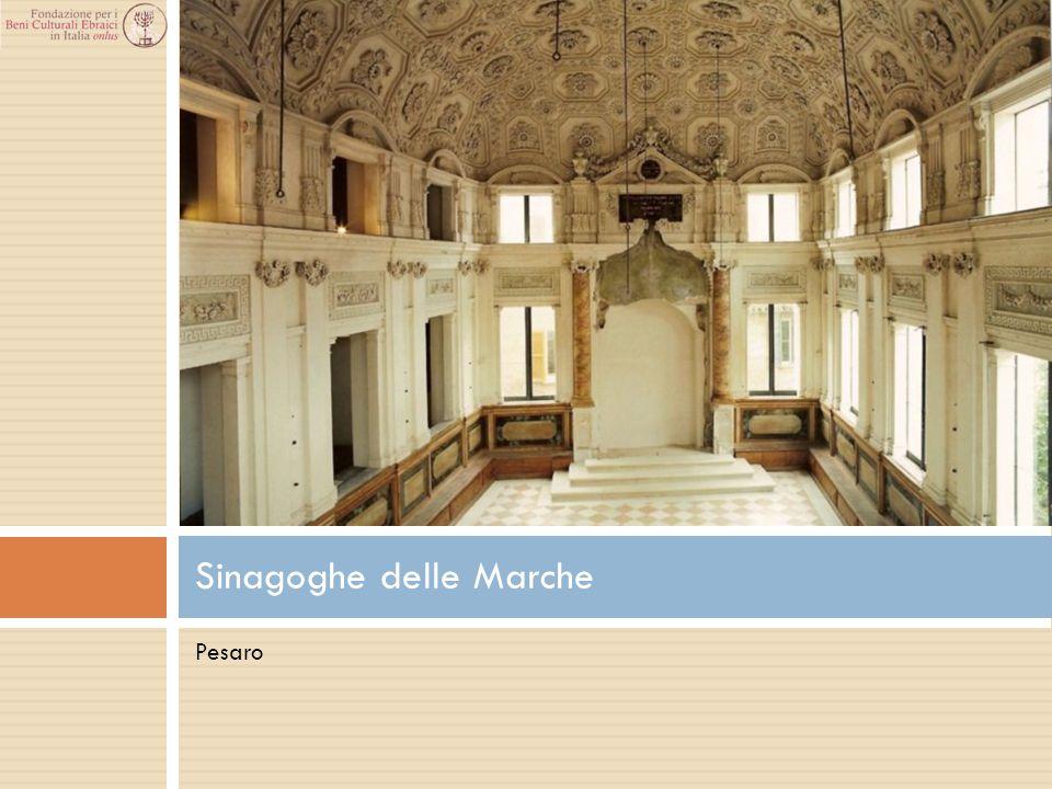Pesaro Sinagoghe delle Marche