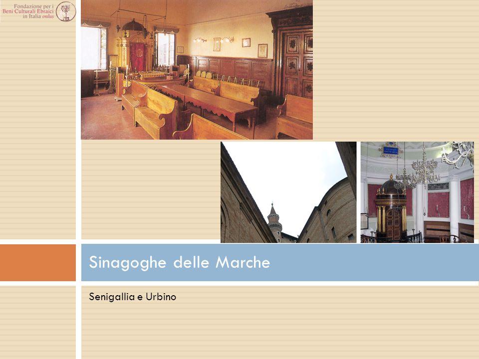 Senigallia e Urbino Sinagoghe delle Marche