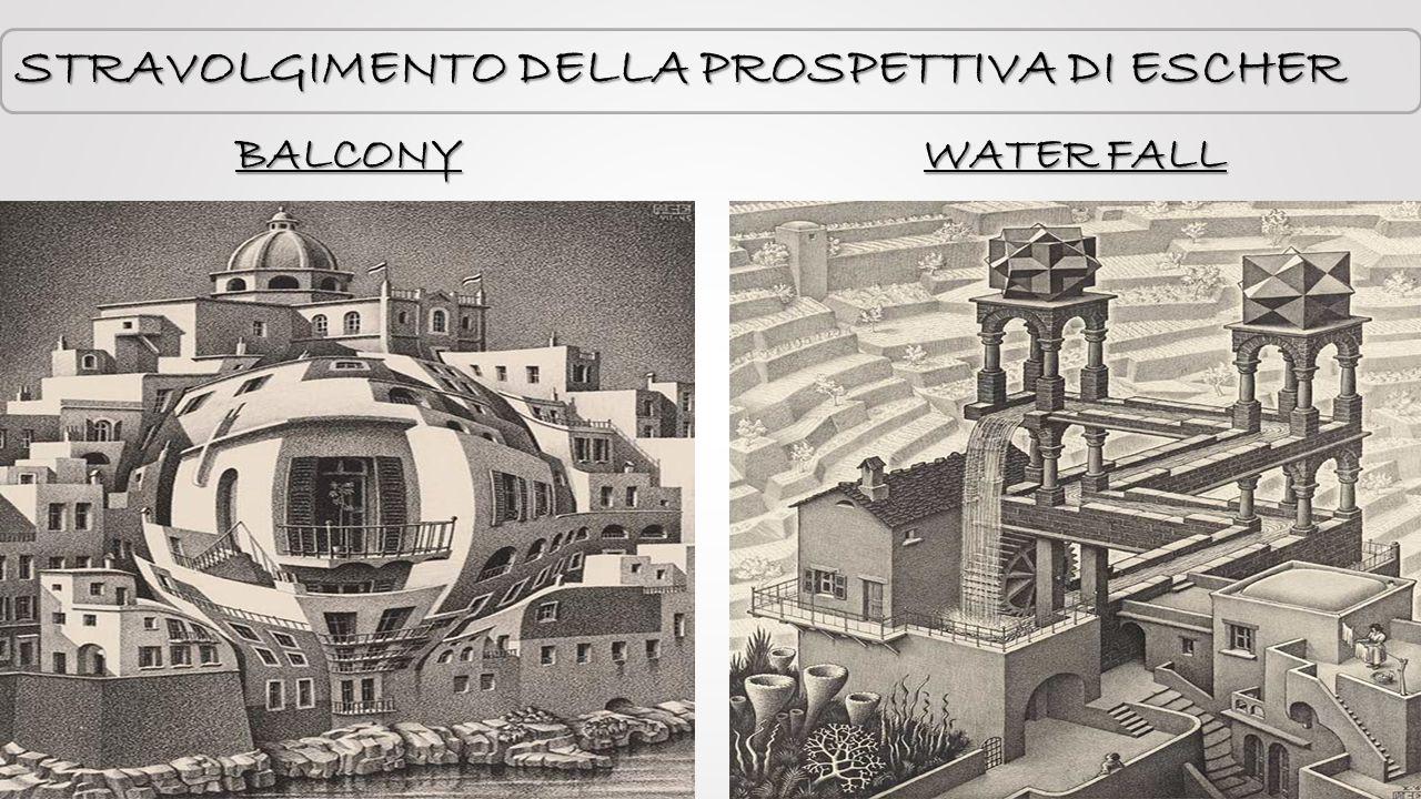 STRAVOLGIMENTO DELLA PROSPETTIVA DI ESCHER WATER FALL BALCONY