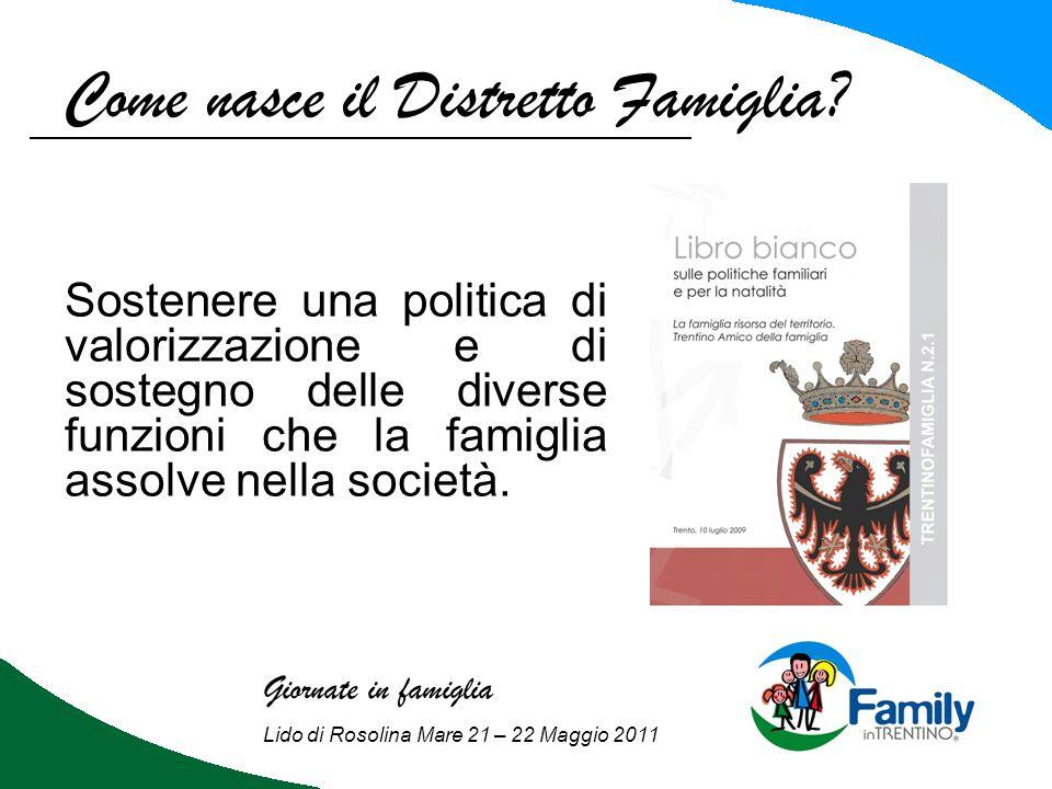 L'accordo volontario di area: Giornate in famiglia Lido di Rosolina Mare 21 – 22 Maggio 2011