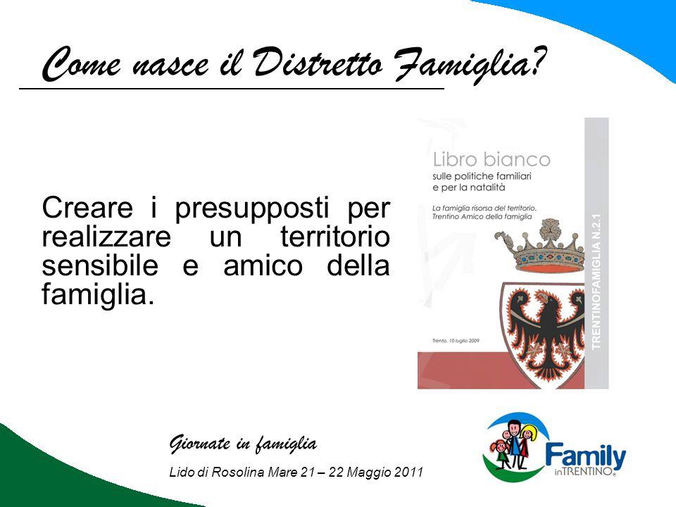 Come nasce il Distretto Famiglia.2 marzo 2011, n.