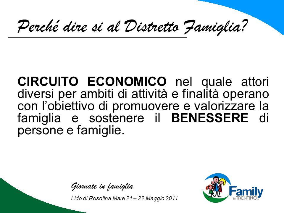 Da valle viva al marchio family: Programma di lavoro: Pianificazione e programmazione; Coinvolgimento dei soggetti locali; Acquisizione standard Family in Trentino ; Laboratorio territoriale.