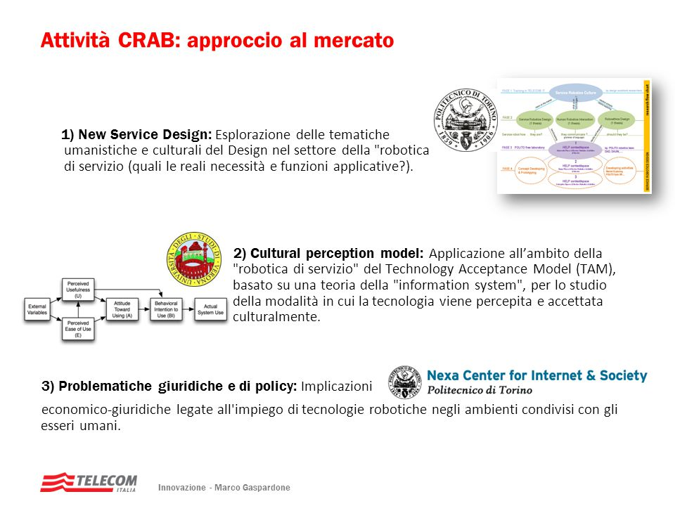1) New Service Design: Esplorazione delle tematiche umanistiche e culturali del Design nel settore della