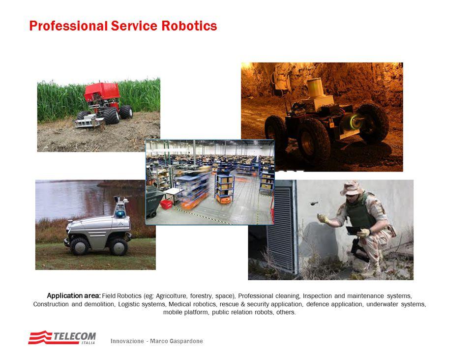 Innovazione - Marco Gaspardone Professional Service Robotics