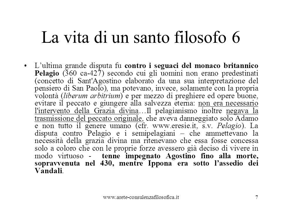 Piccola analisi 3 Ma Paolo vuol dire qualcosa di più: Dio vuole salvare tutti e questo Agostino non vuole accettarlo.
