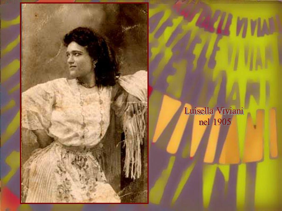 Luisella Viviani nel 1905 Luisella Viviani nel 1905