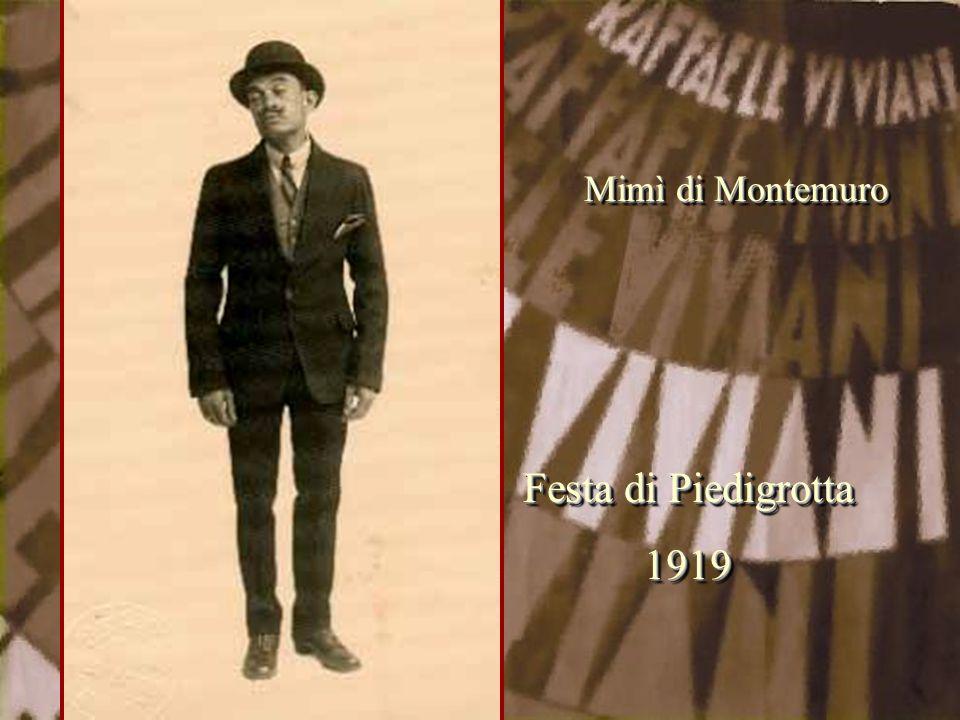 Mimì di Montemuro Festa di Piedigrotta 1919 1919