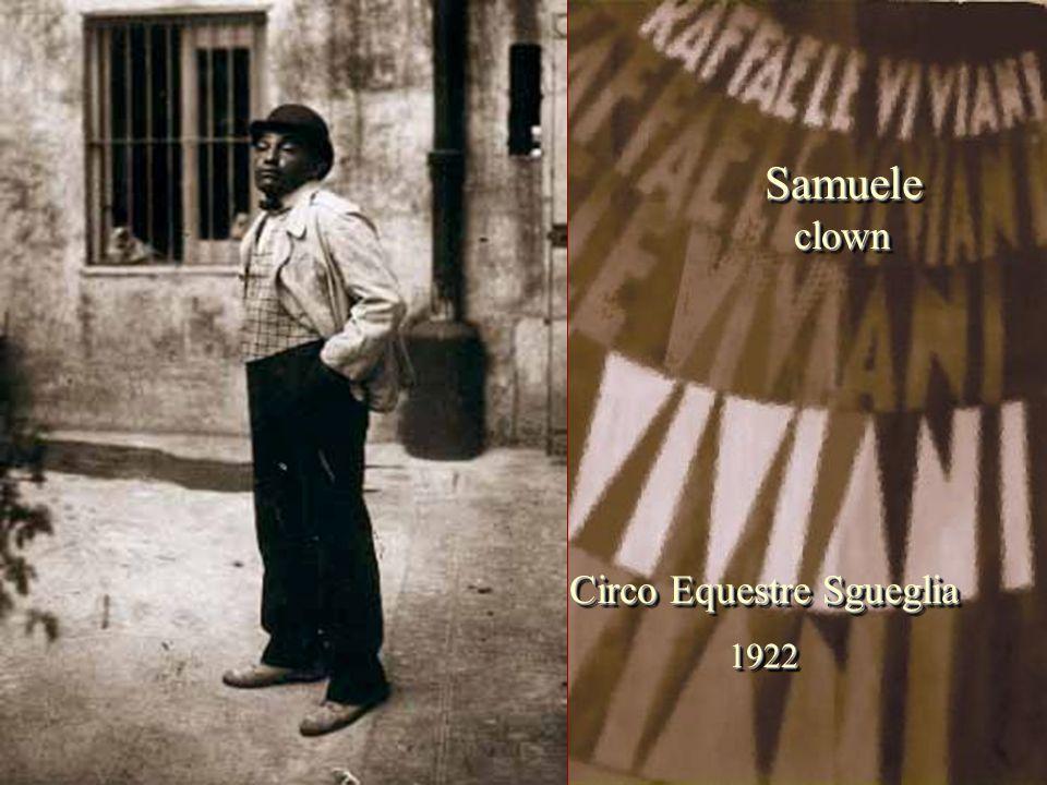 Circo Equestre Sgueglia 1922 1922 SamueleclownSamueleclown