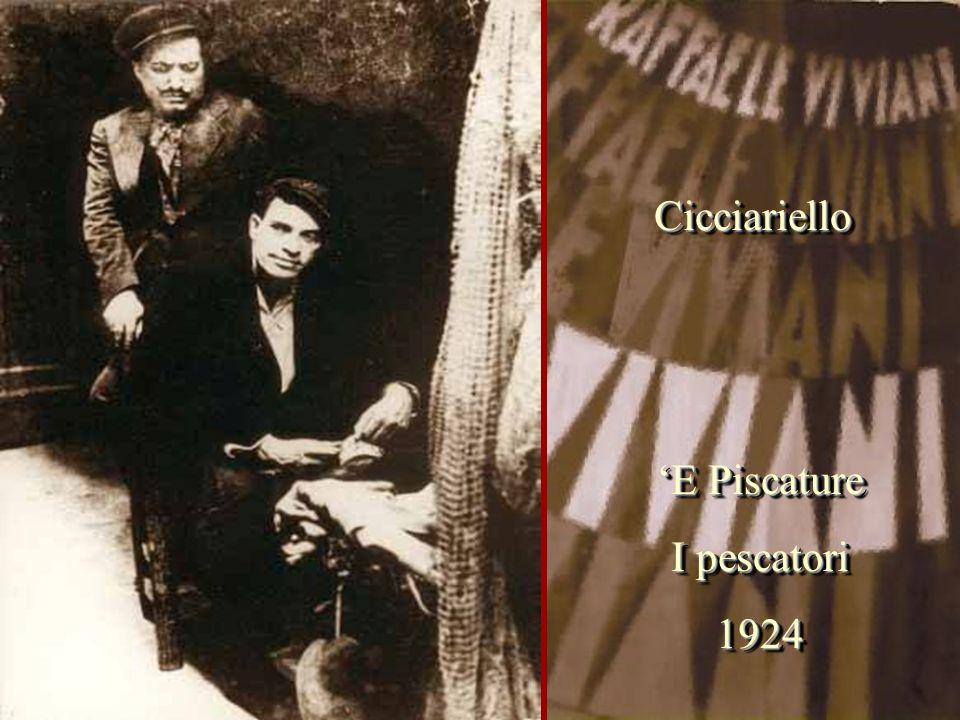 'E Piscature I pescatori 1924 'E Piscature I pescatori 1924 CicciarielloCicciariello