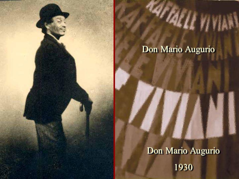 Don Mario Augurio 1930 1930