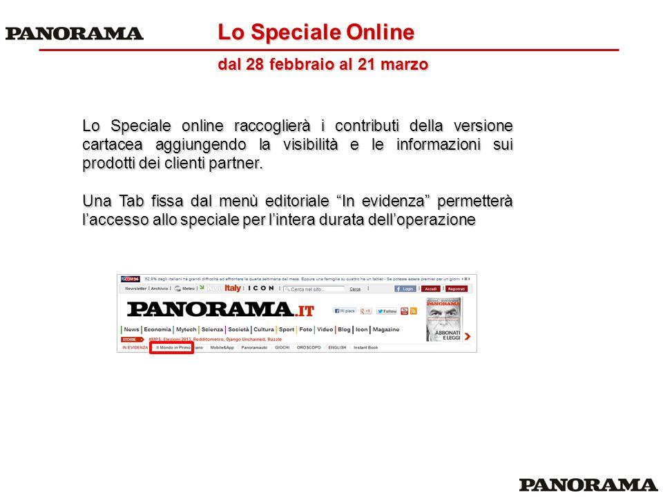 Lo Speciale online raccoglierà i contributi della versione cartacea aggiungendo la visibilità e le informazioni sui prodotti dei clienti partner. Una