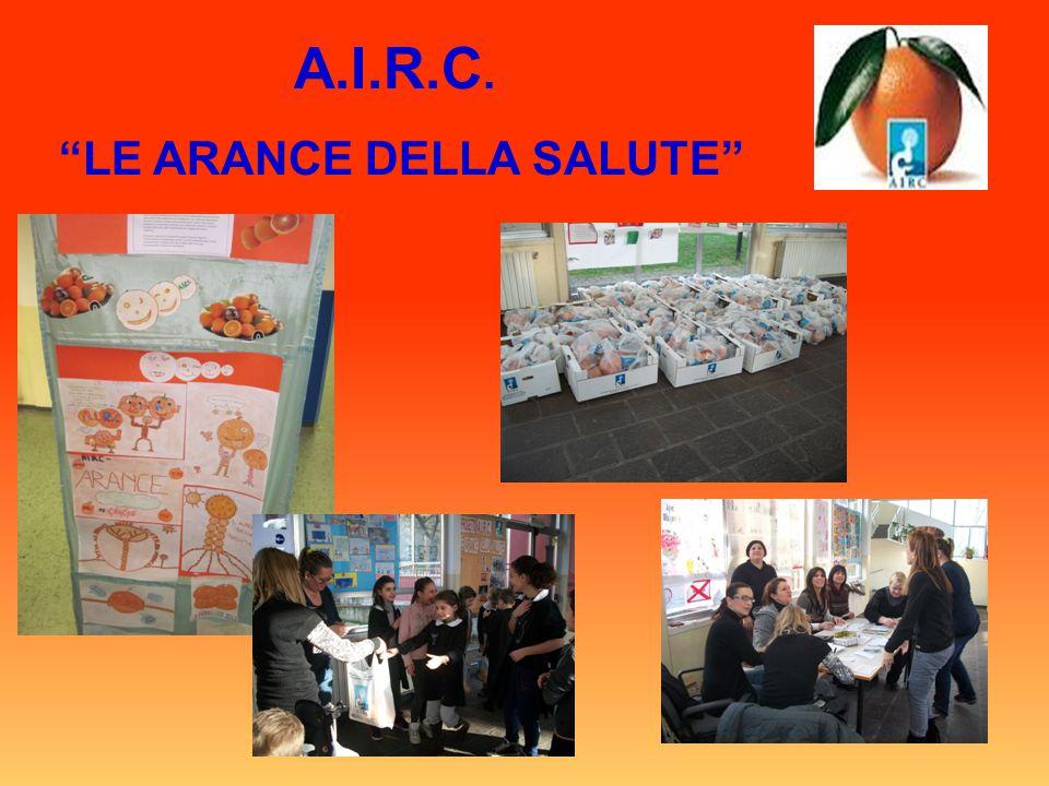 "A.I.R.C. ""LE ARANCE DELLA SALUTE"""