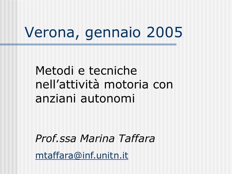 PROGRAMMA DEL MODULO Lezione 1: La METODOLOGIA Martedì 11-1-2005 (3 ore) Punteremo principalmente sulla metodologia di lavoro, differenziando gli interventi secondo il contesto logistico-ambientale e umano.