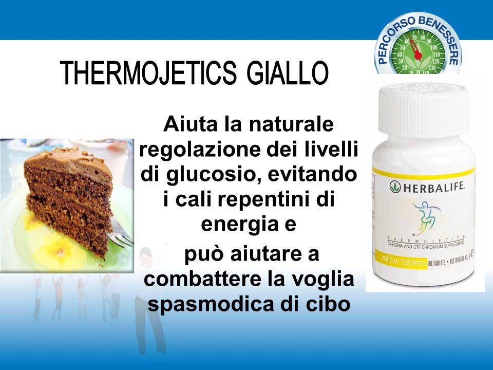 Aiuta la naturale regolazione dei livelli di glucosio, evitando i cali repentini di energia e può aiutare a combattere la voglia spasmodica di cibo