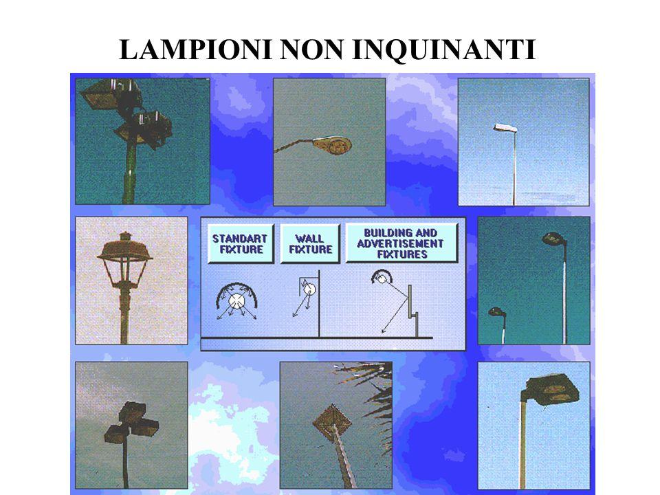 LAMPIONI NON INQUINANTI