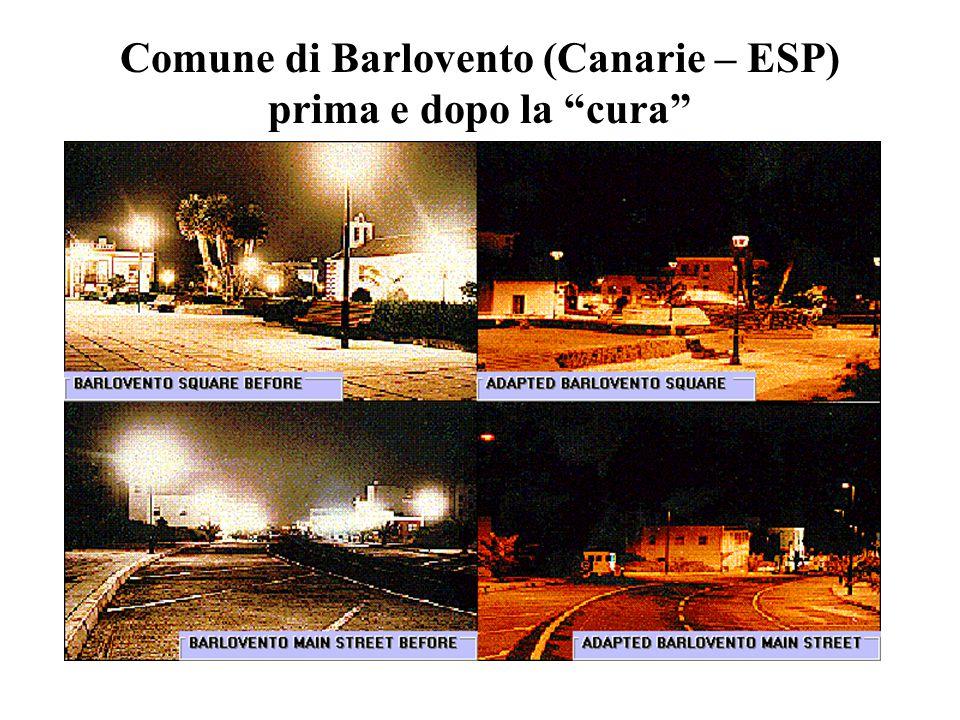 Comune di Barlovento (Canarie – ESP) prima e dopo la cura