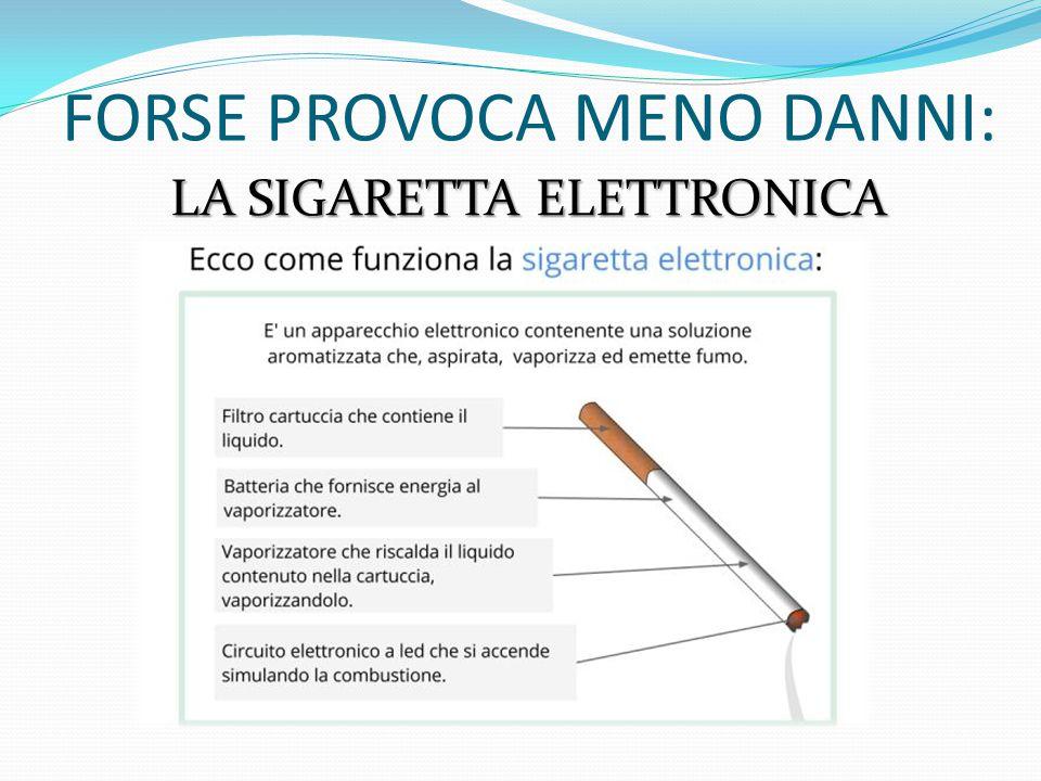 MA TUTTO SOMMATO SAREBBE MEGLIO NON FUMARE…