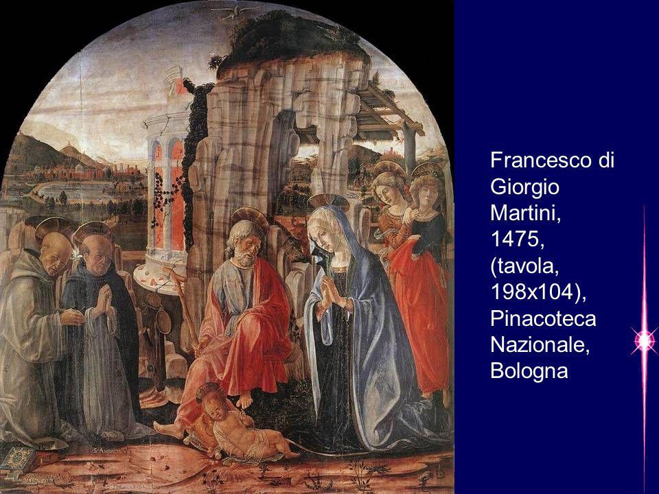 Francesco di Giorgio Martini, 1475, (tavola, 198x104), Pinacoteca Nazionale, Bologna