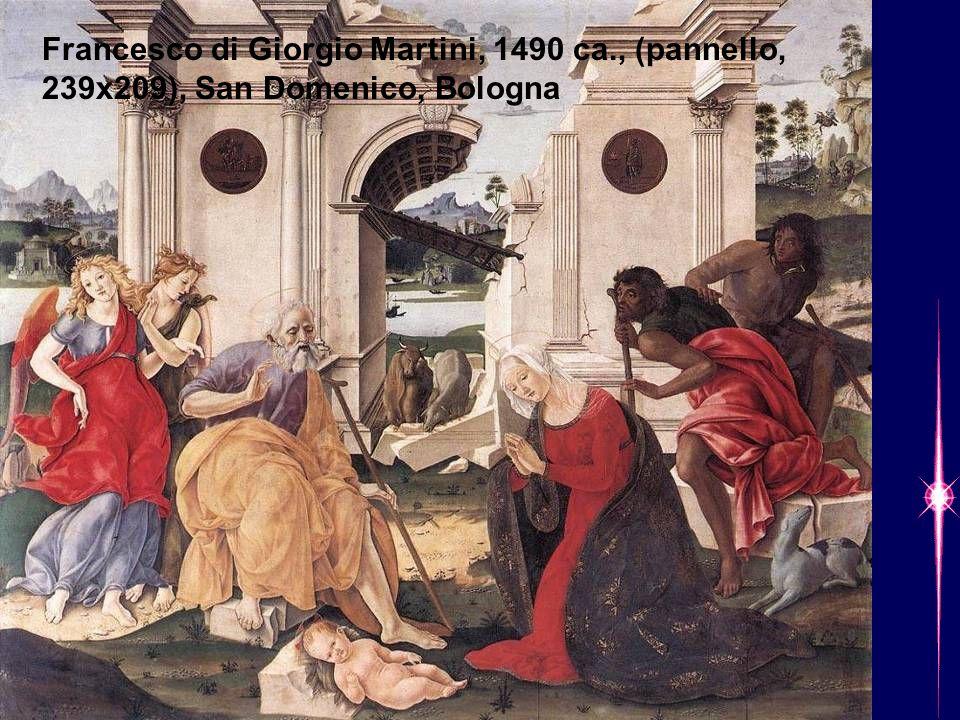 Francesco di Giorgio Martini, 1490 ca., (pannello, 239x209), San Domenico, Bologna