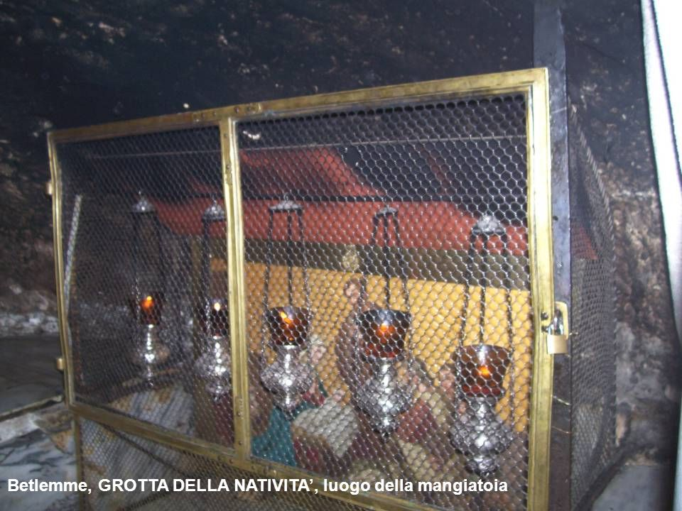 Betlemme, GROTTA DELLA NATIVITA', luogo della mangiatoia