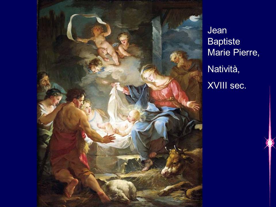 Jean Baptiste Marie Pierre, Natività, XVIII sec.