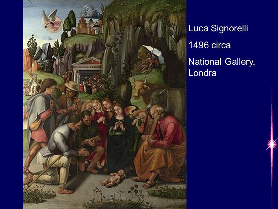 Luca Signorelli 1496 circa National Gallery, Londra