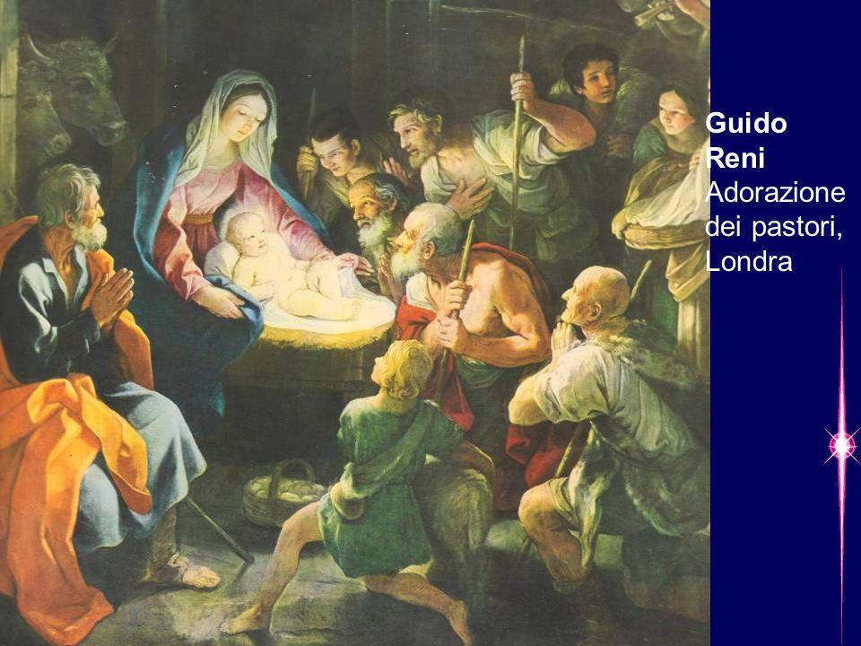 Guido Reni Adorazione dei pastori, Londra