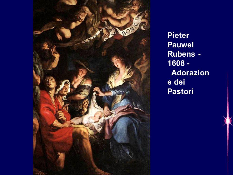Pieter Pauwel Rubens - 1608 - Adorazion e dei Pastori