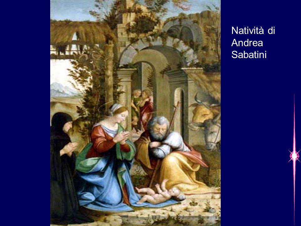 Natività di Andrea Sabatini