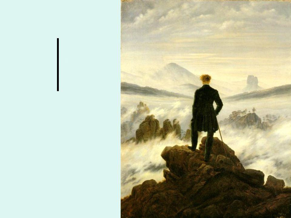 tensione struggente verso l'infinito, l'assoluto, la totalità l'uomo è un eterno viandante, un inquieto ricercatore