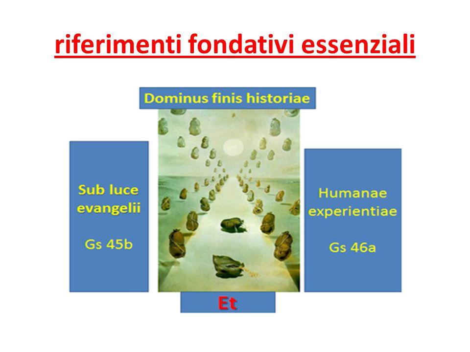riferimenti fondativi essenziali