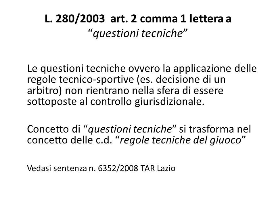 L.280/2003 art.