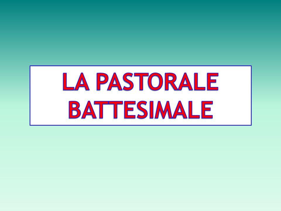 PASTORALE BATTESIMALE: SOGGETTI COINVOLTI La pastorale pre e post battesimale prevede la presenza attiva di diversi operatori.
