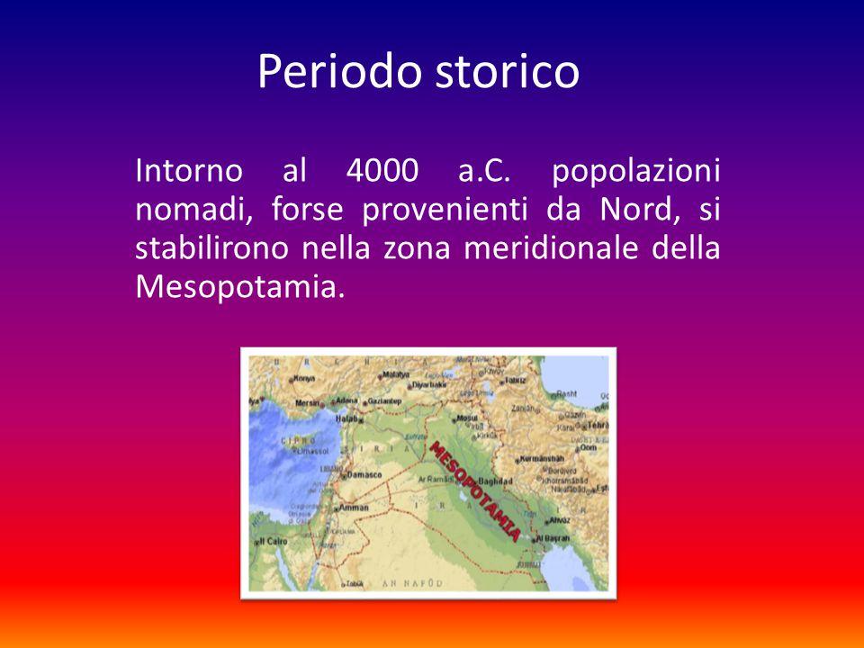 Insediamento Benché fertile, quella terra era paludosa per le continue inondazioni dei fiumi Tigri ed Eufrate.