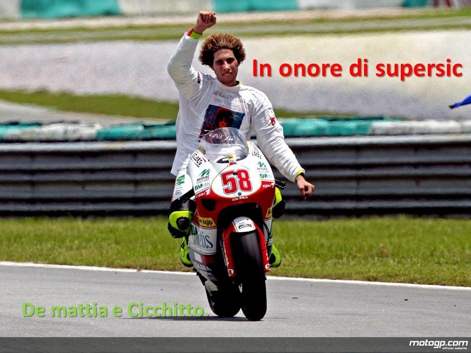 Marco Simoncelli E nato il 20/01/1987 campione del mondo della classe 250 nel 2008.