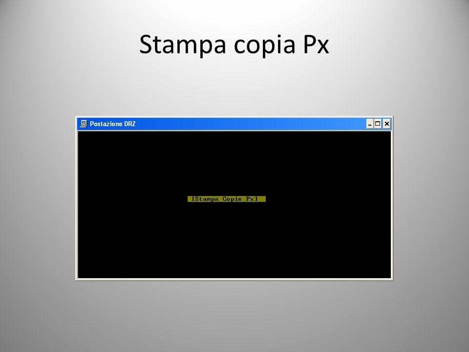 Stampa copia Px