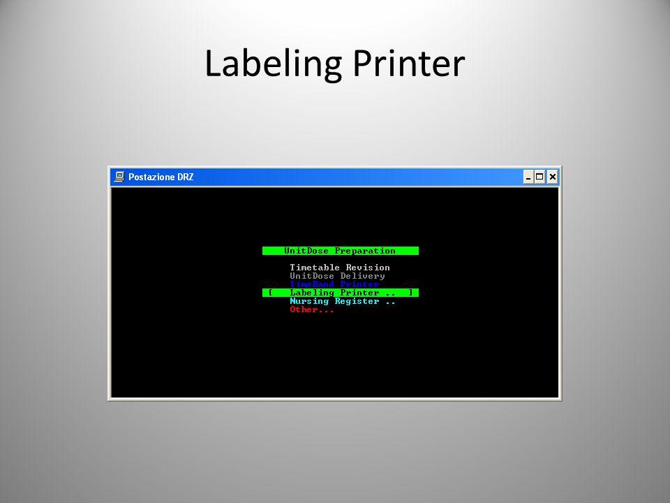 Labeling Printer