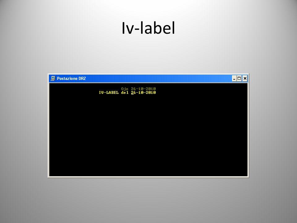 Iv-label
